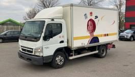 closed box truck Mitsubishi CANTER FUSO 7C15 Klima Ladebordwand Euro 5