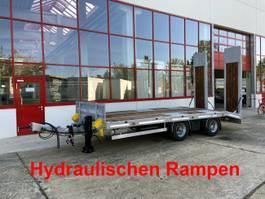 lowloader semi trailer Möslein TT21-7,2 Hydr  21 t Tandemtieflader, Luftgefedert, NEU 2021