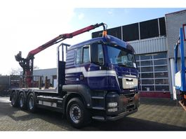 crane truck MAN TGS 35.440 TRIDEM EPSILON 1502 WITH GRAB 2010