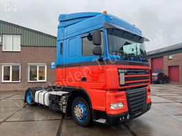 mega-volume tractorhead DAF XF 105.410 SC | Automaat | Nacht airco 2011