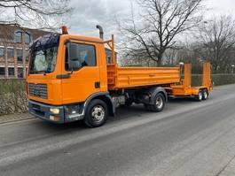 tipper truck > 7.5 t MAN TGL 8.210 4x2 BB 3 Seiten Kipper Mit Anhänger 2006