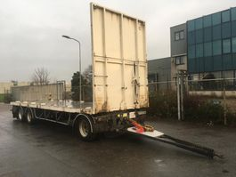 drop side full trailer Samro RT26WJ - 3 As Vrachtwagen Aanhangwagen Open, Frans kenteken > NL 2008