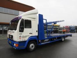 car transporter truck MAN 10.153 voor 3 voertuigen!!!!!! 1996
