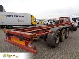 container chassis semi trailer Trailor SD 92 + 3 AXLE 1995