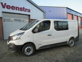 closed lcv Renault Trafic 1.6DCi 6-Sitzer LKW Klima Netto €5650,=