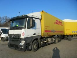 chassis cab truck Mercedes-Benz 2545 LS BDF, Euro 6, Retarder, Klima