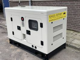 generator Ricardo 15 KVA Silent Generator 3 Phase or 1 Phase 50HZ NEW UNUSED 2021