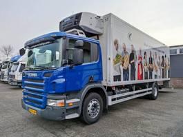 refrigerated truck Scania P230 B 4X2 Euro 5 - Koel/vriesbak 8M - Carrier Supra 950mt - 2000 kg laadklep... 2010