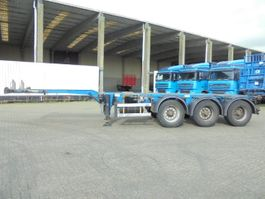 container chassis semi trailer D-TEC FT-43-03V DISCBRAKES 2008