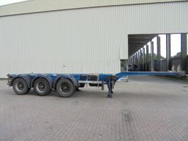 container chassis semi trailer D-TEC FT-43-03V DISCBRAKES 2009