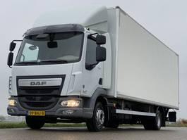 closed box truck DAF LF220.12 EURO6  45165km!!   710x248x240 2014