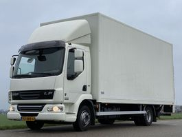 closed box truck DAF LF45.180 EURO5. 610x248x260 Bakwagen met 2 TONS laadklep. 2012