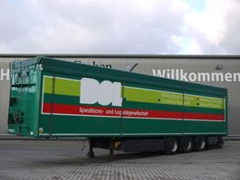 walking floor semi trailer Kraker CF-Z, 90m³ Schubboden 2015