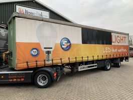 sliding curtain semi trailer Pacton 2 AS 12.6 City 2500kg LBW, Stuuras/Lenkachse, Hardholz boden + Rongen 2005