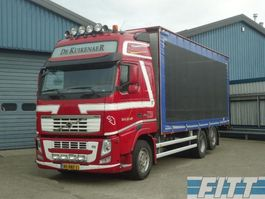 sliding curtain truck Volvo 2013 FH 460 6X2  pluimvee combi icm 2008 Cuppers 2ass aanhanger 2013