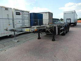 container chassis semi trailer Groenewegen 30CC-14-27, Tankchassis 2007