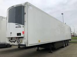 refrigerated semi trailer Krone SD, bi-temp, doublestock, 3-ass. 2010