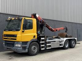 container truck DAF CF85-360 / Euro5 / HMF Z-Kraan / Haak / 6x2 / NL Truck 2006