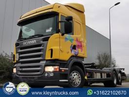 swap body truck Scania R420 hl manual retarder e 2006