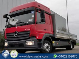 platform truck Mercedes-Benz Atego 1223 big space,ahk, 2016