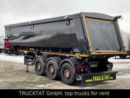 tipper semi trailer Stas HardoX 36 m³, Liftachse, 6,6 to. leer, MIETEN? 2019