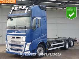 swap body truck Volvo FH 500 6X2 German Truck XL Full Safety VEB+ ACC Liftachse Xenon 2015
