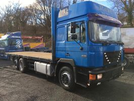 platform truck MAN 26.402 6X2 stake body - top 1995