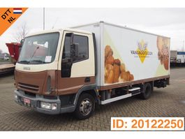 closed box truck Iveco EuroCargo 65 65E13 2004