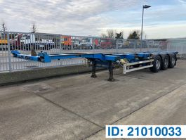 container chassis semi trailer Renders Polyvalent skelet 20-30-40 ft 2004