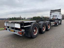 container chassis semi trailer Van Hool VAN HOOL CONTAINER OPLEGGER 20/30FT LEKBAK / TANKTRANSPORT ADR 2001