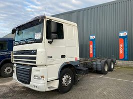 chassis cab truck DAF XF 105 410 manual 6x2 10 wheeler 2007