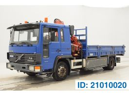 tipper truck > 7.5 t Volvo FL611 1993