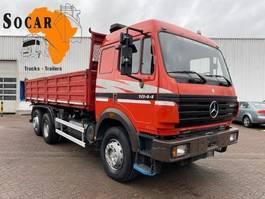 tipper truck > 7.5 t Mercedes-Benz 1844 6x2 eps Three pedals Tipper (3 way tipper) 1998