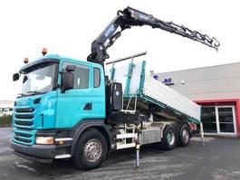 tipper truck > 7.5 t Scania G480-6X2/4-STUURAS-EU5-EFFER 30T/M-RADIOSTURING-CONTINUE ROTEREND-RETARDER-3ZIJDIGE KIPPER-TOP 2010