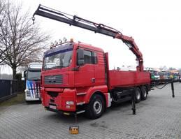 crane truck MAN TGA 26.480 6X4 ATLAS 300 2005