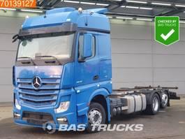 swap body truck Mercedes-Benz Actros 2545 L 6X2 German Truck Retarder Liftachse Mega Standklima 2x Tanks 2016