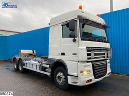 chassis cab truck DAF XF 105 460 6x2, EURO 5 2008