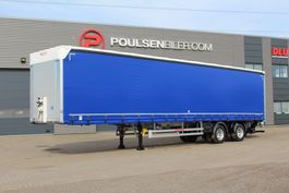 sliding curtain semi trailer Hangler 2-axle 33-pll city