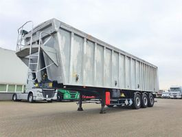 tipper semi trailer Benalu ALU tipper 55m3 SAF INTRAX 2007