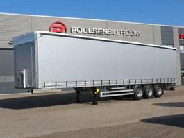 Schiebeplanenauflieger Hangler 3-axle curtain trailer 42.000kg