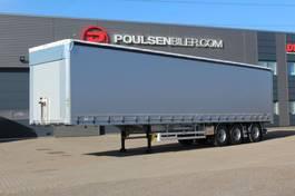Schiebeplanenauflieger Hangler 3-axle NORDIC curtain trailer 42.000kg