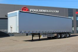 sliding curtain semi trailer Hangler 3-axle NORDIC curtain trailer 42.000kg