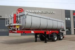 tipper semi trailer Langendorf 2-axle 25m3 Hardox asphalt tip trailer