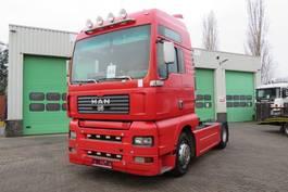 cab over engine MAN TGA 18.413 (Manual diesel pomp Euro 2) / PTO / TIPPER HYDRAULIC 2001