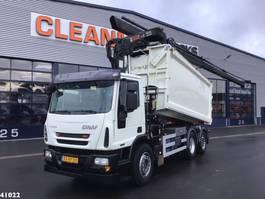tipper truck > 7.5 t Ginaf C 3128 N HIab 21 ton/meter laadkraan 2010