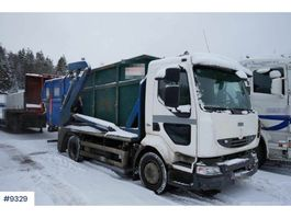 container truck Renault Midlum Container Lifter 2009