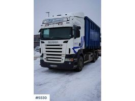 container truck Scania R560 6x2 hook truck 2009