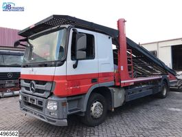 car transporter truck Mercedes-Benz Actros 1841 Lohr, Multilohr EURO 5, Retarder 2010