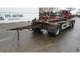 container chassis semi trailer Van Hool 3K0016 AA 1997