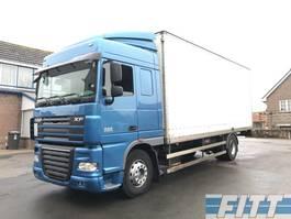 closed box truck DAF FA XF105/460 ZF 16 Retarder gesloten bak 2011